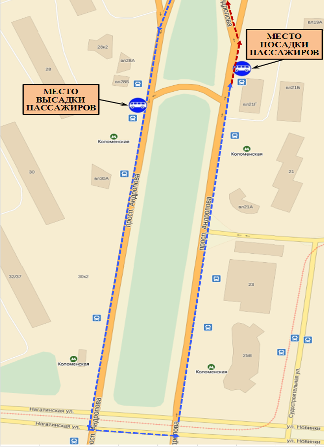 Схема проезда к агентству